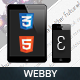 Webby Mobile | Mobile Template - ThemeForest Item for Sale