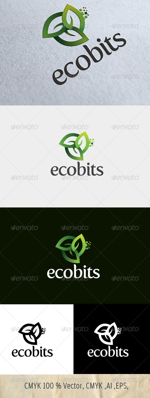 Ecobits - Nature Logo Templates