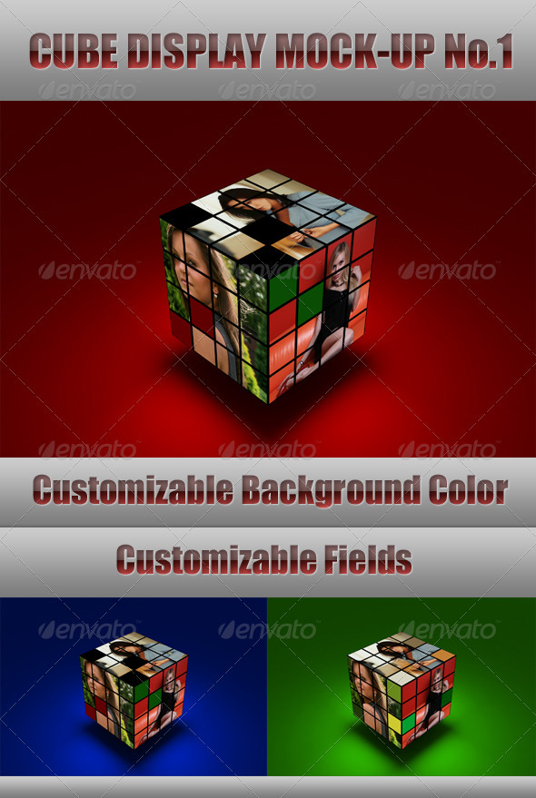 Cube Display Mock-Up - Miscellaneous Displays