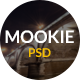 Mookie - Flat Multi Purpose PSD Template - ThemeForest Item for Sale