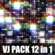 Flashing Squares VJ Loops Pack (12-in-1) - VideoHive Item for Sale