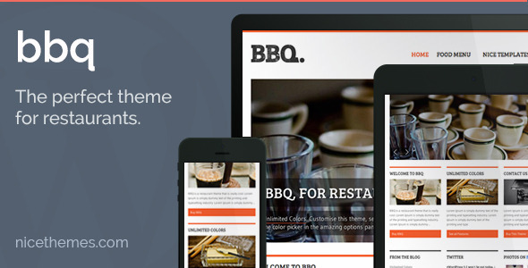 BBQ – Restaurant WordPress Theme