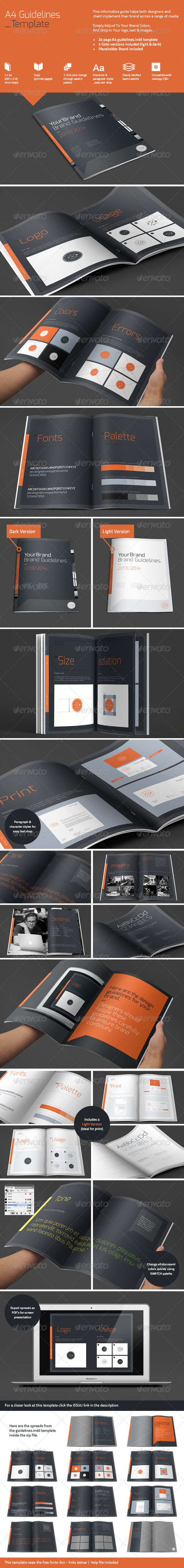 A4 Brand Guidelines - Informational Brochures