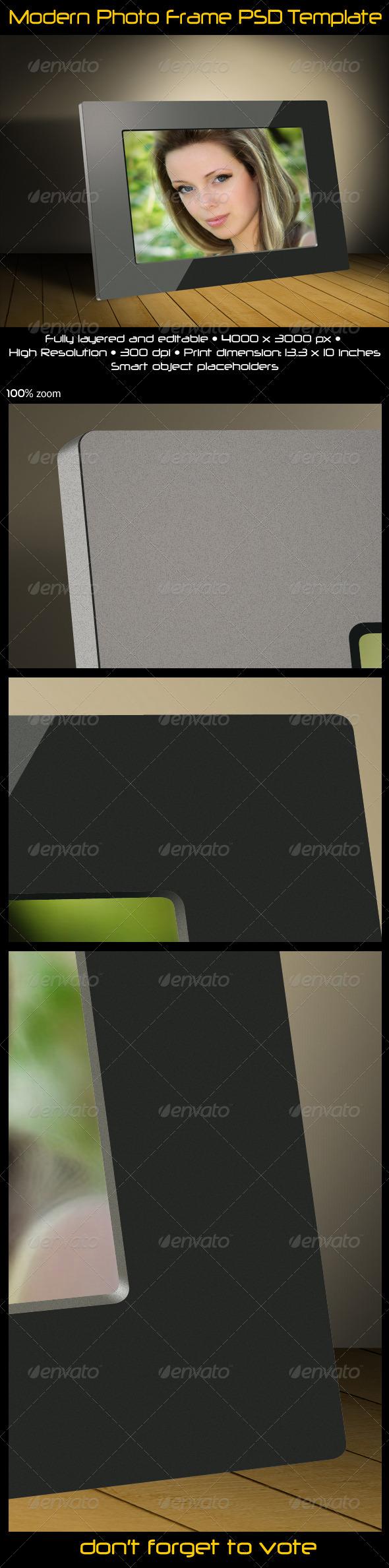 Modern Photo Frame - Miscellaneous Photo Templates