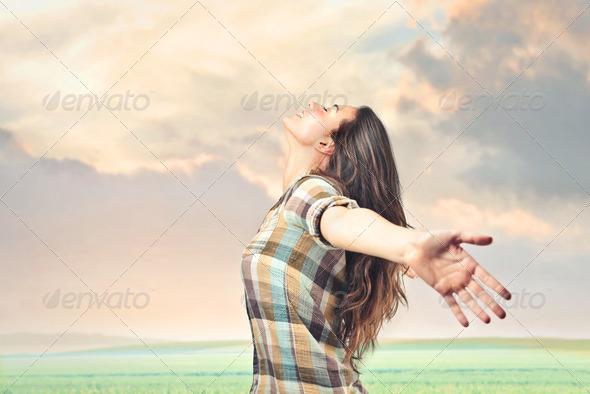 breathe - Stock Photo - Images