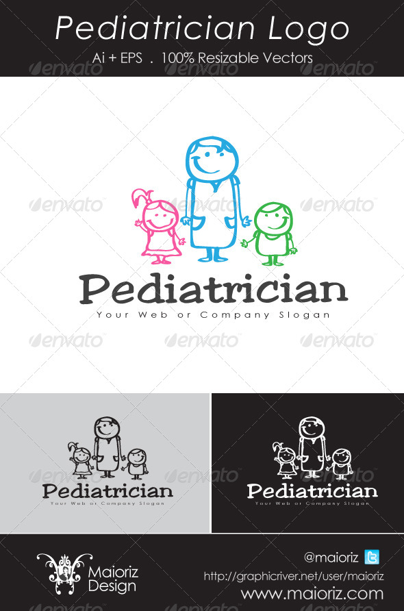 Pediatrician Logo - Humans Logo Templates