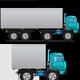 Container & Truck Cartoon - VideoHive Item for Sale