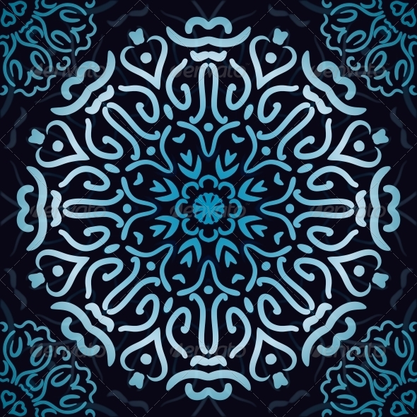 Luxury Ornamental Abstract Wallpaper. - Patterns Decorative