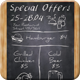 Chalkboard Flyer - GraphicRiver Item for Sale