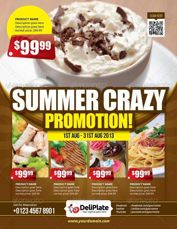 Restaurant Flyer Vol.6