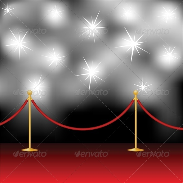 Red Carpet and Paparazzi - Miscellaneous Vectors