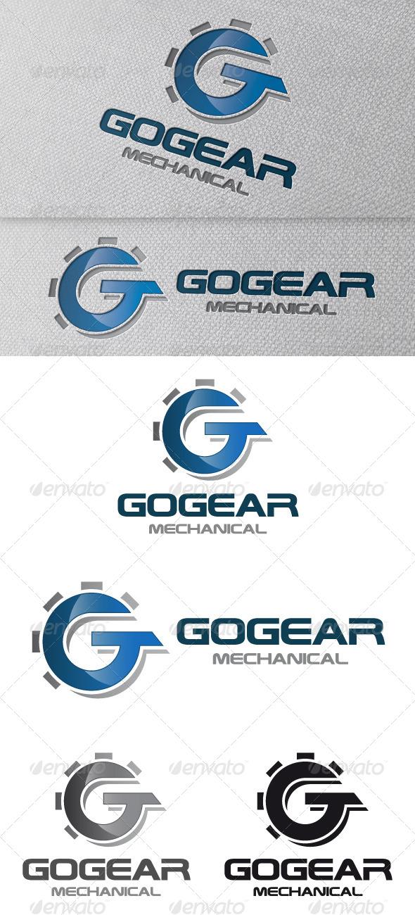 Gear Letter G Logo Template - Letters Logo Templates