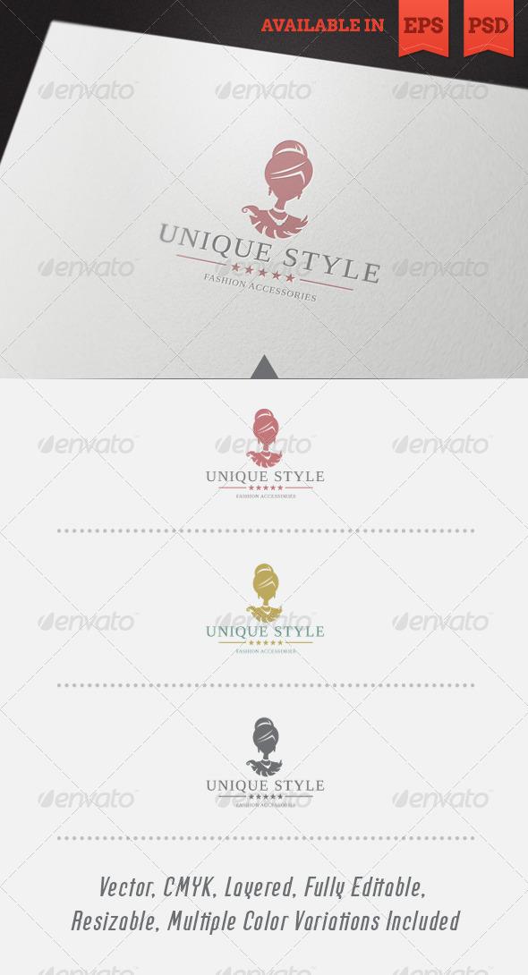 Unique Style Logo Template - Humans Logo Templates