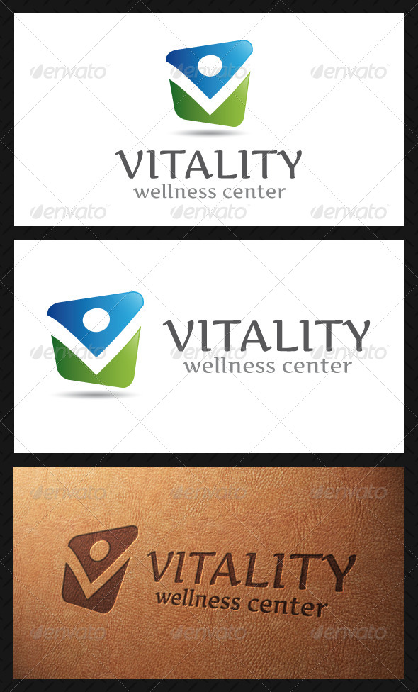Vitality Logo Template - Humans Logo Templates