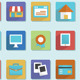 Flat Icons for Design - GraphicRiver Item for Sale