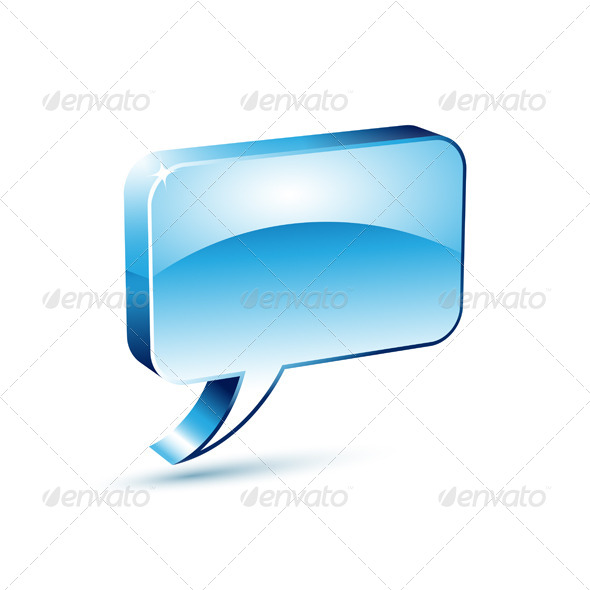 Blue Dialog Box - Communications Technology