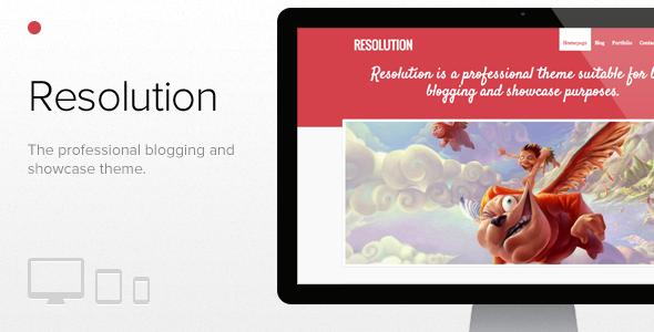 Resolution - Blog / Magazine WordPress