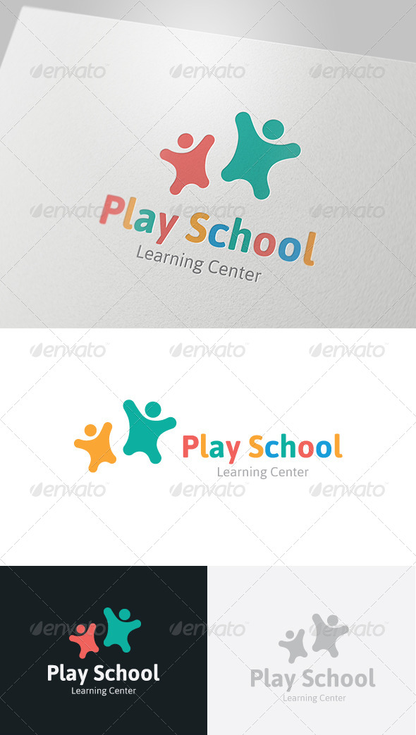 Play School Logo - Humans Logo Templates