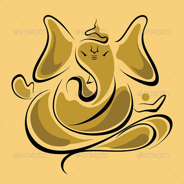 God Ganesha - Religion Conceptual