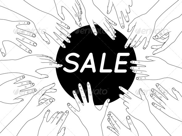 Sale - Commercial / Shopping Conceptual