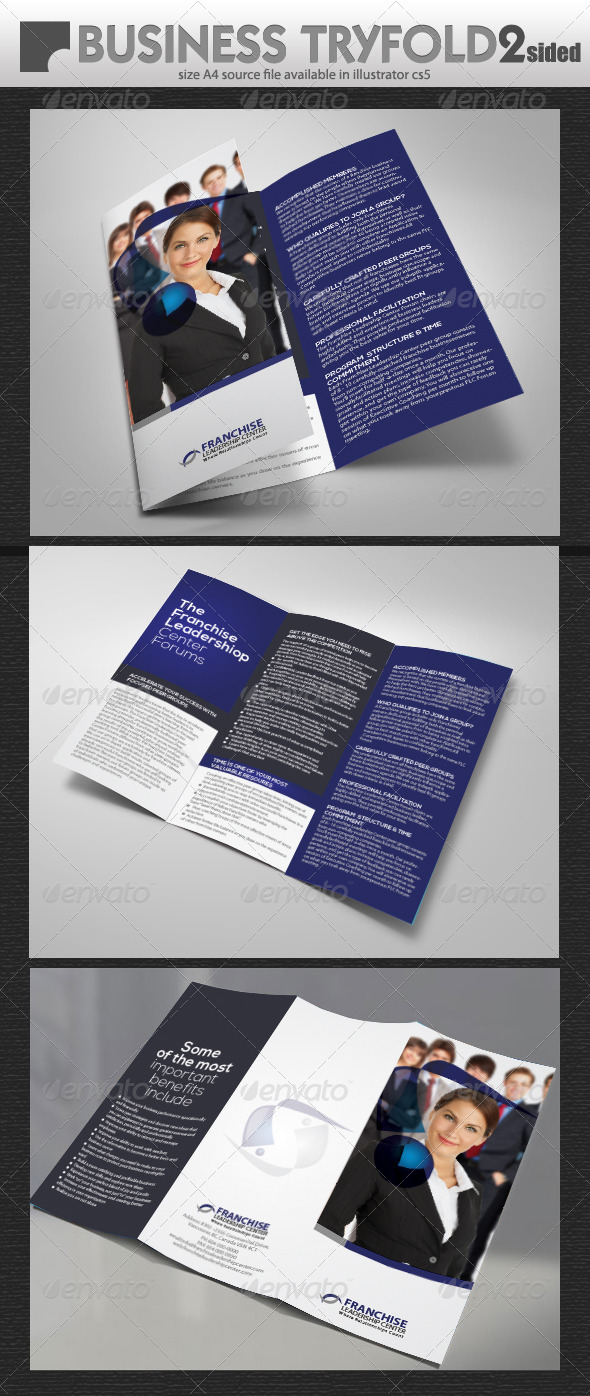 Business Try-Fold - Corporate Brochures
