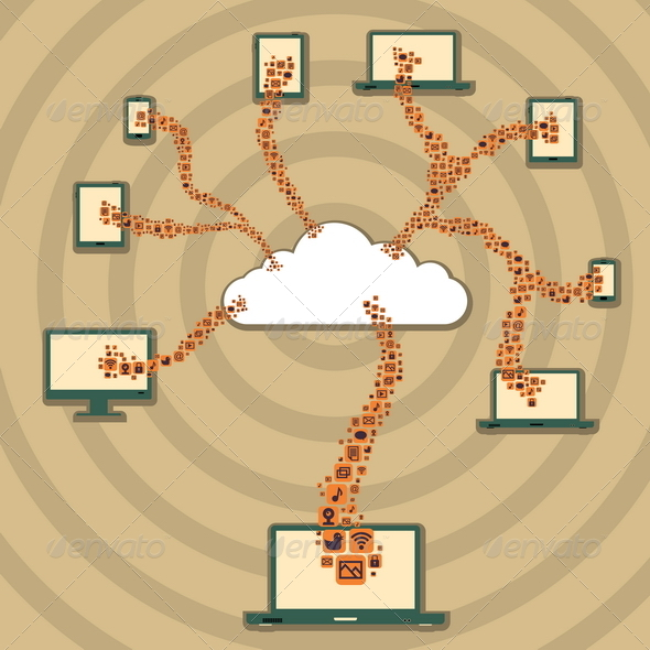 Cloud Media Sharing - Technology Conceptual
