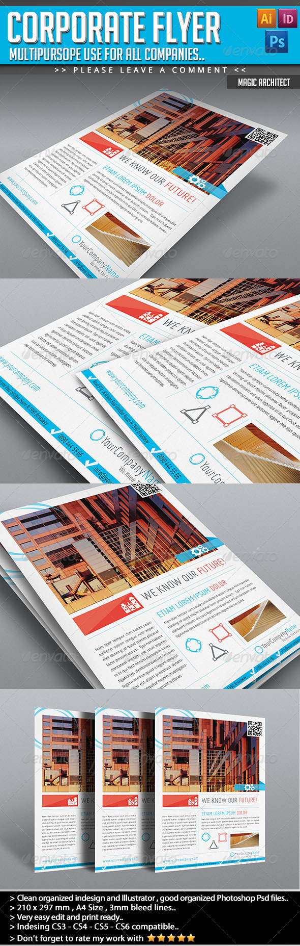 Corporate Flyer - Magic Architecture - Corporate Flyers