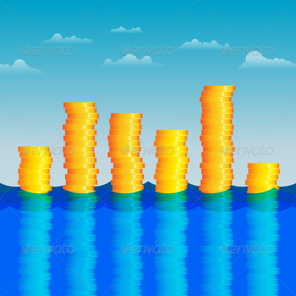Coins in the Water - Concepts Business