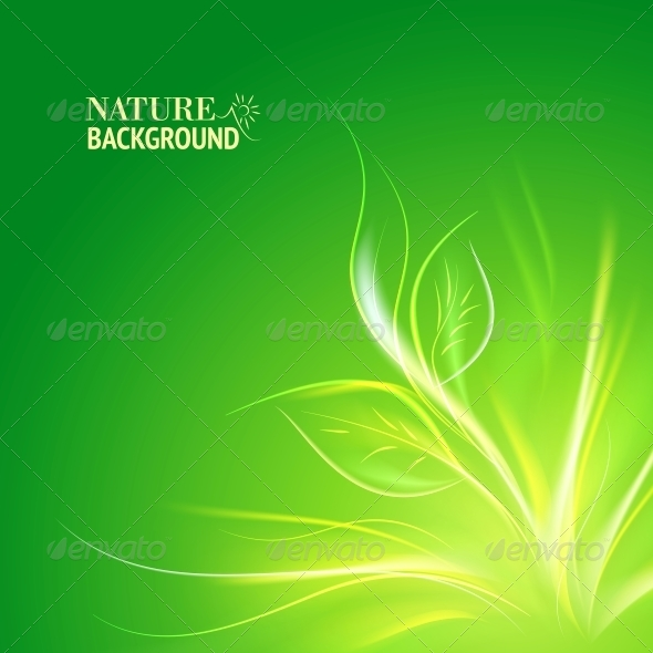 Nature Background. - Abstract Conceptual
