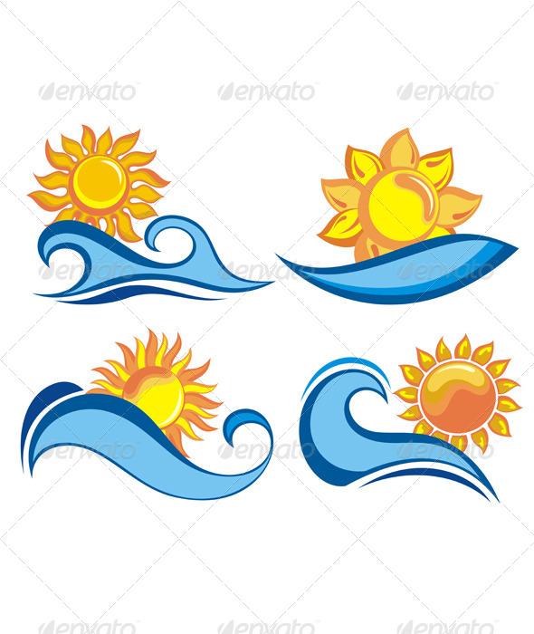 Summer Symbols - Travel Conceptual