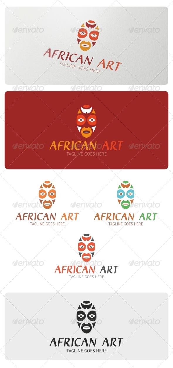 African Art Logo Template - Objects Logo Templates