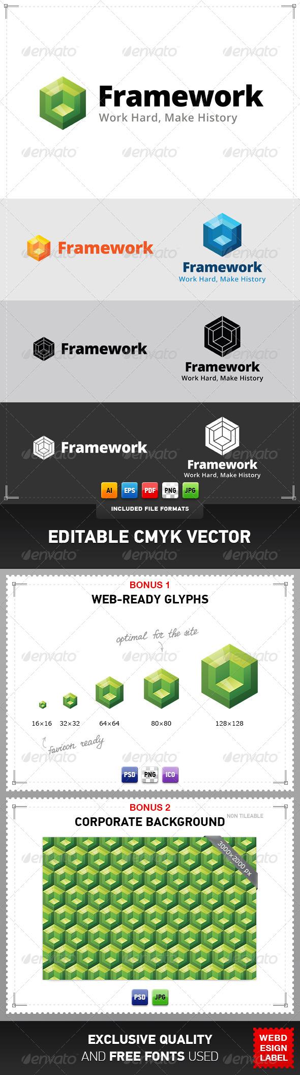 Framework Logo - Vector Abstract