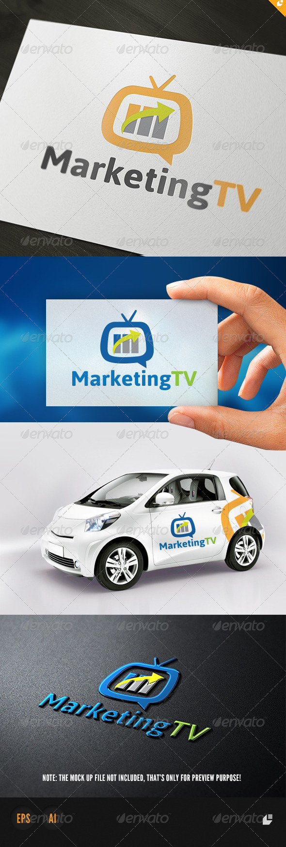 Marketing TV Logo - Objects Logo Templates