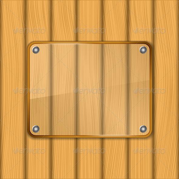 Glass Board - Objects Vectors