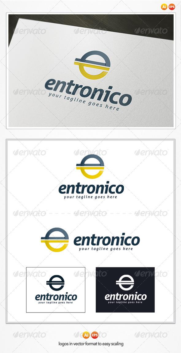 Entronico Logo - Letters Logo Templates