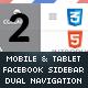 DuoDrawer | Sidebar Navigation for Mobile & Tablet