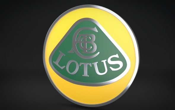 Lotus Logo - 3DOcean Item for Sale