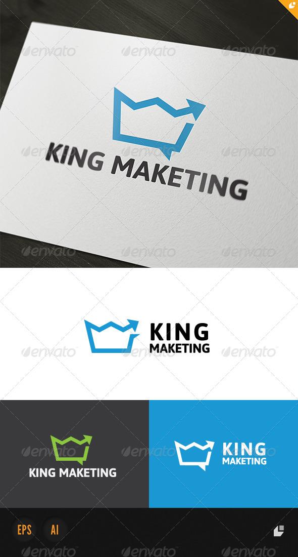 King Marketing Logo - Objects Logo Templates