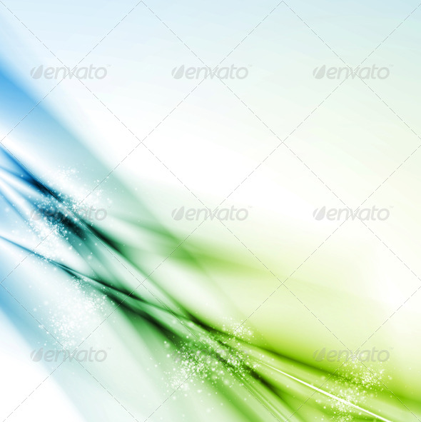 Colourful abstract vector background - Backgrounds Decorative
