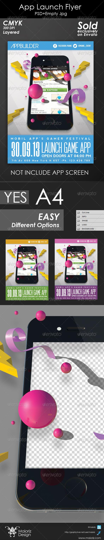App Launch Flyer - Commerce Flyers