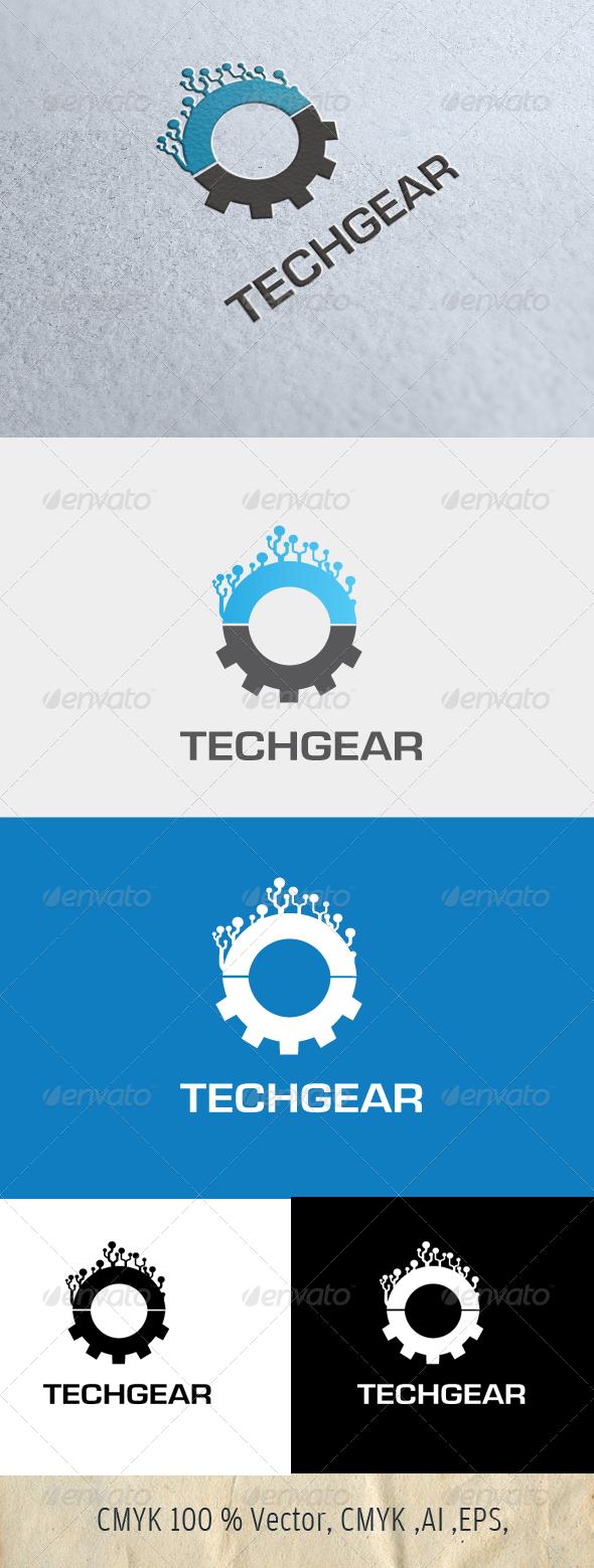 TechGear - Symbols Logo Templates