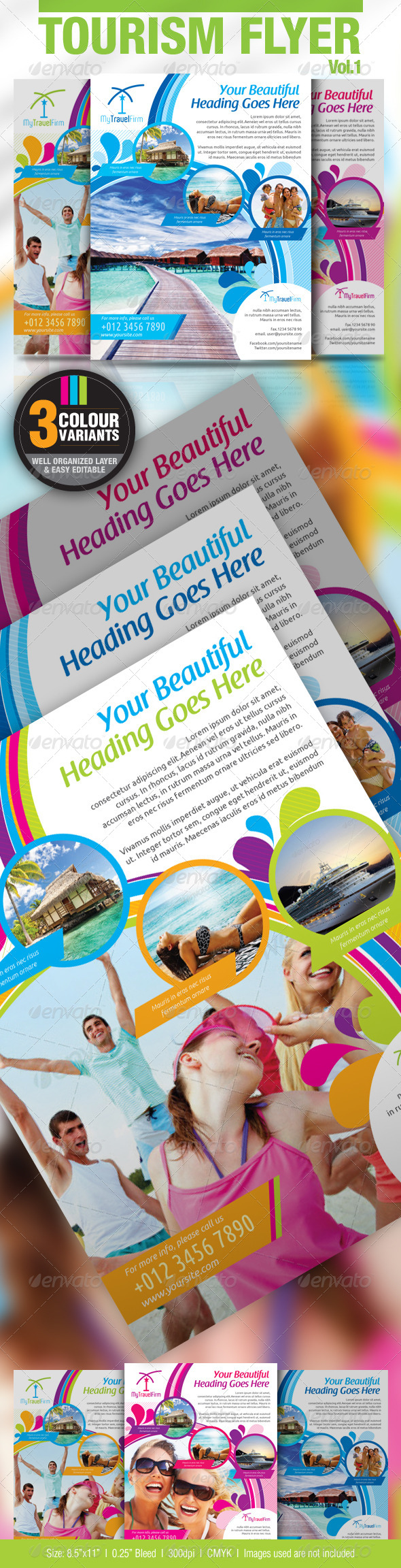 Tourism Flyer Vol.1 - Holidays Events