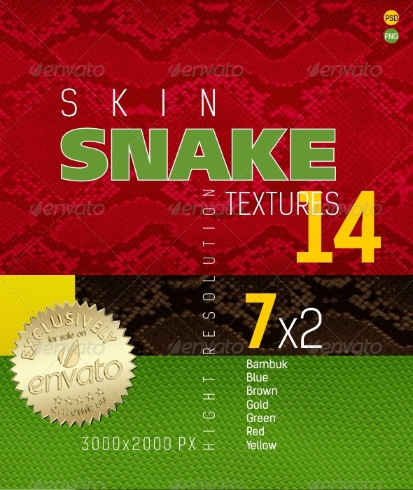 Snakeskin Texture Backgrounds - Nature Backgrounds