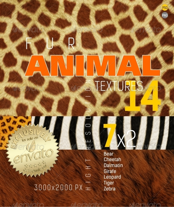Fur Animal Texture Backgrounds - Nature Backgrounds