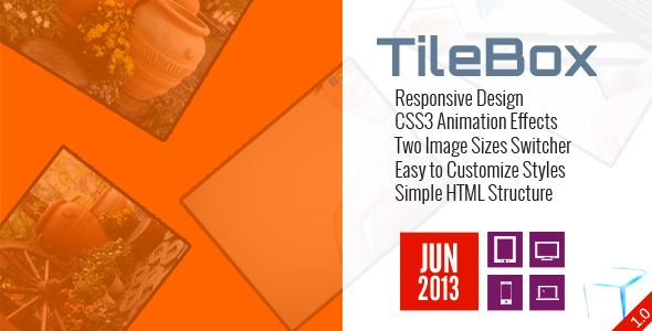 TileBox - Modern Responsive LightBox CSS - CodeCanyon Item for Sale