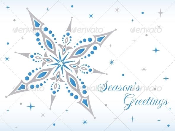 Vector Christmas Star - Christmas Seasons/Holidays