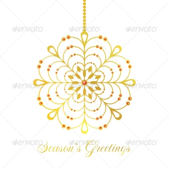 Vector Christmas Bauble - Christmas Seasons/Holidays