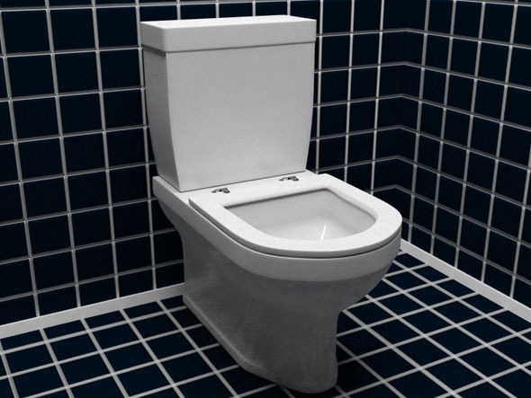 Lavatory Pan - 3DOcean Item for Sale