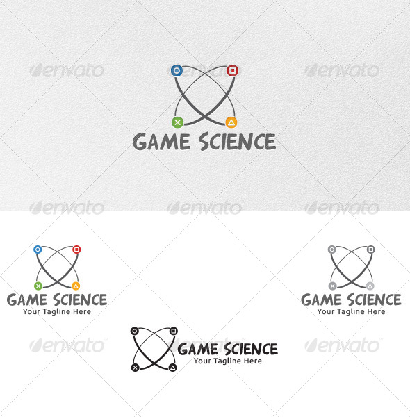 Game Science - Logo Template - Symbols Logo Templates