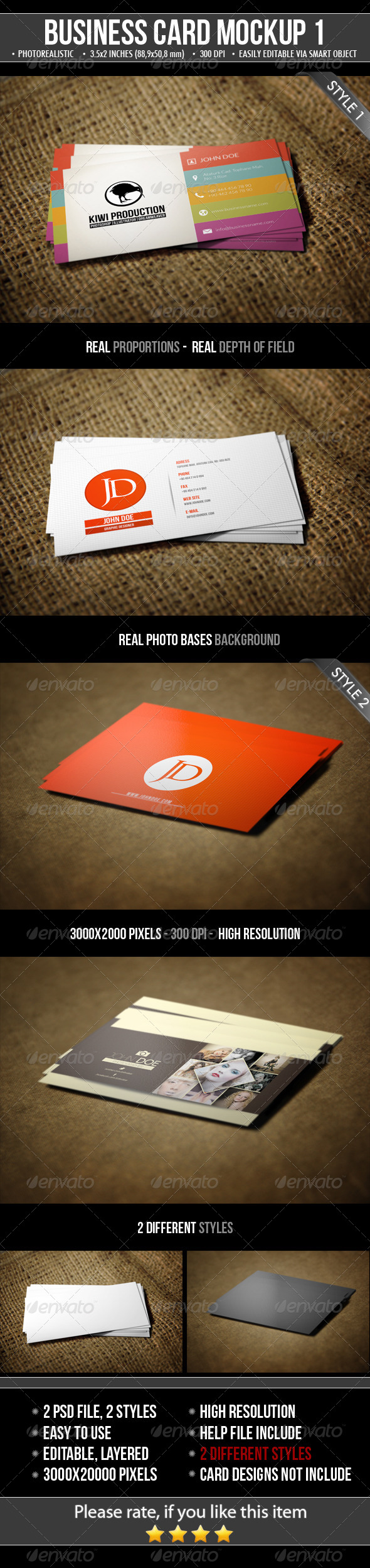 2 realistic business card mock ups by mejora graphicriver 2 realistic business card mock ups business cards print reheart Image collections